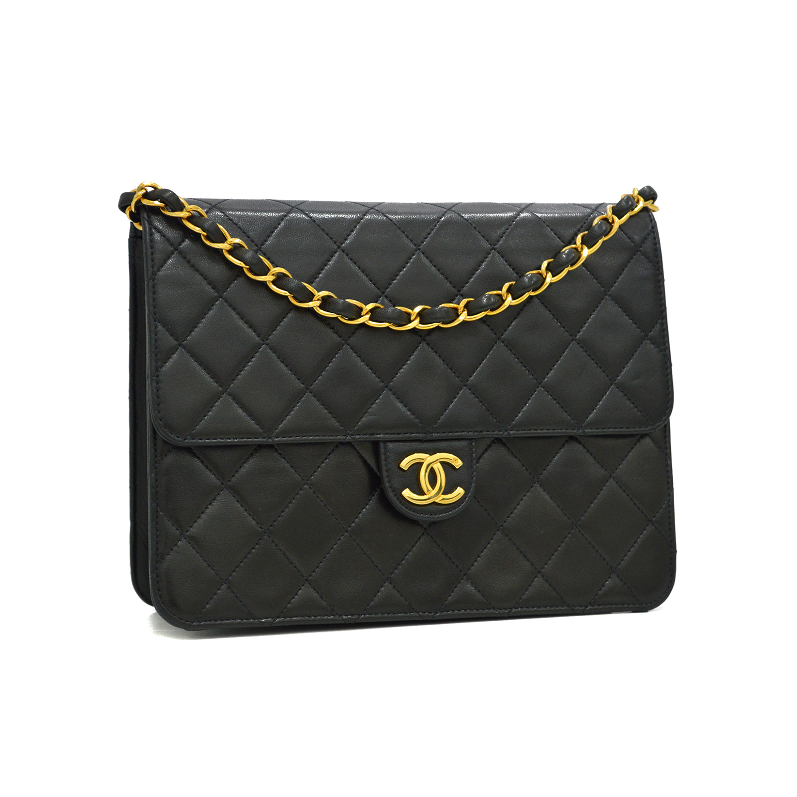 CHANEL Classic 2 Way Flap Bag
