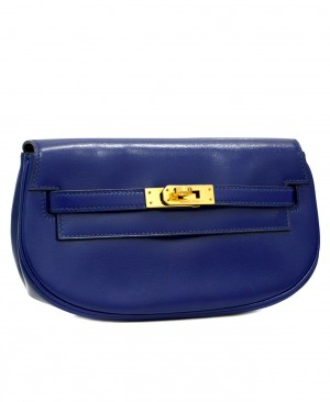Hermes Kelly Pochette Clutch Waist Belt Bag