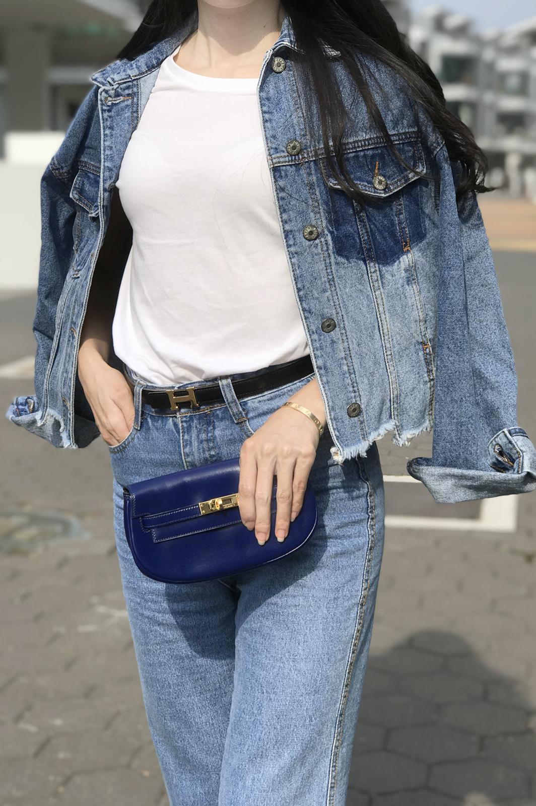Hermes Kelly Clutch Belt Bag