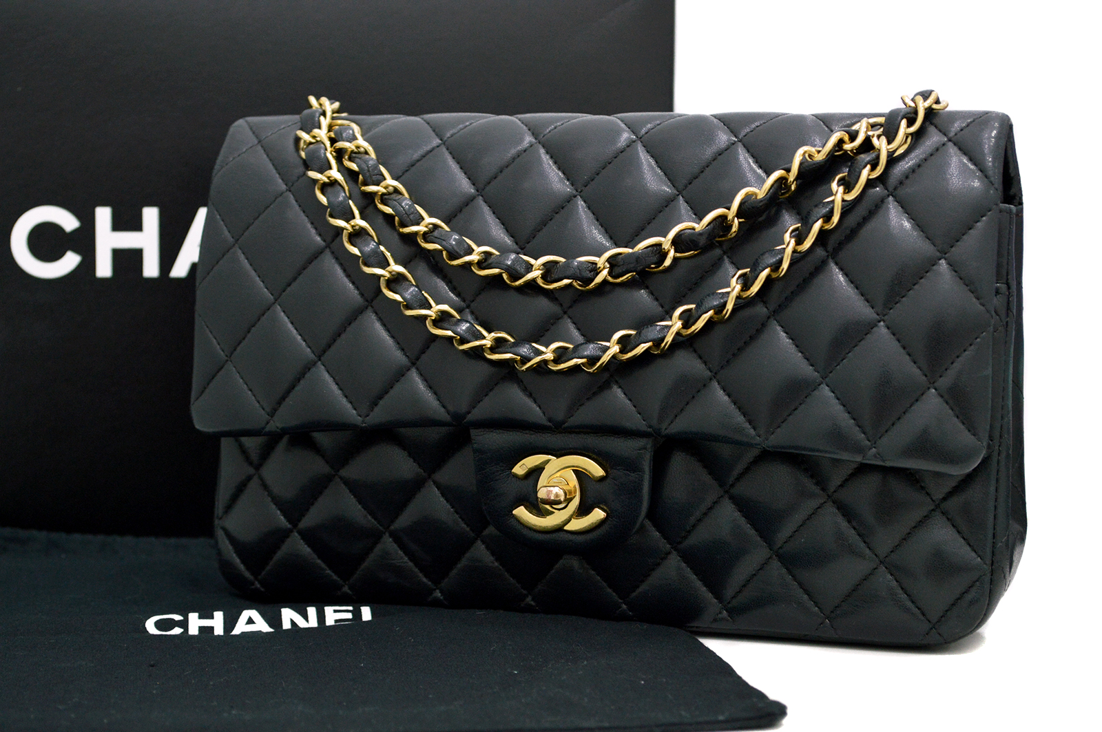 CHANEL Matelasse Classic Double Flap Bag