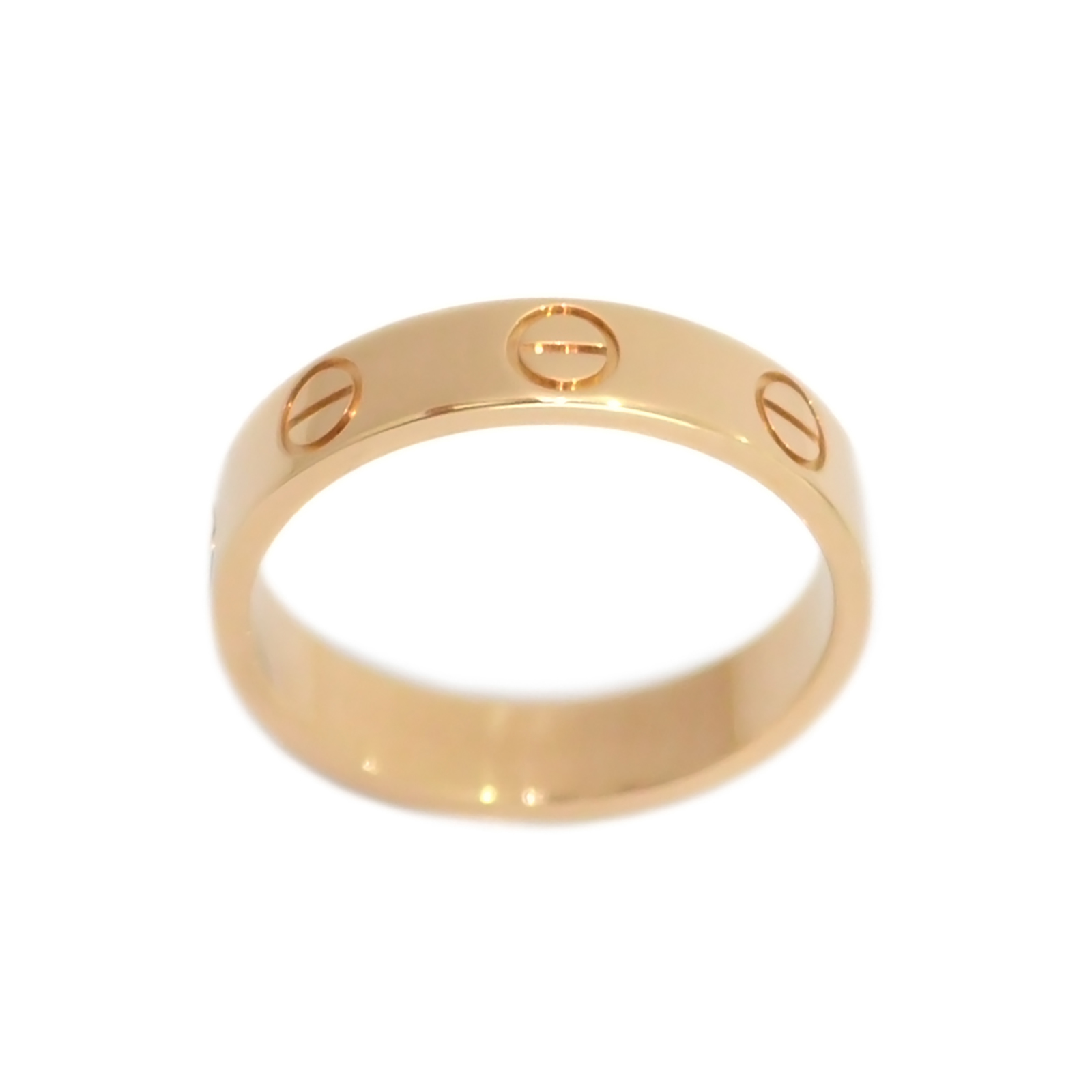 Cartier Love Ring Rose Gold CA170002