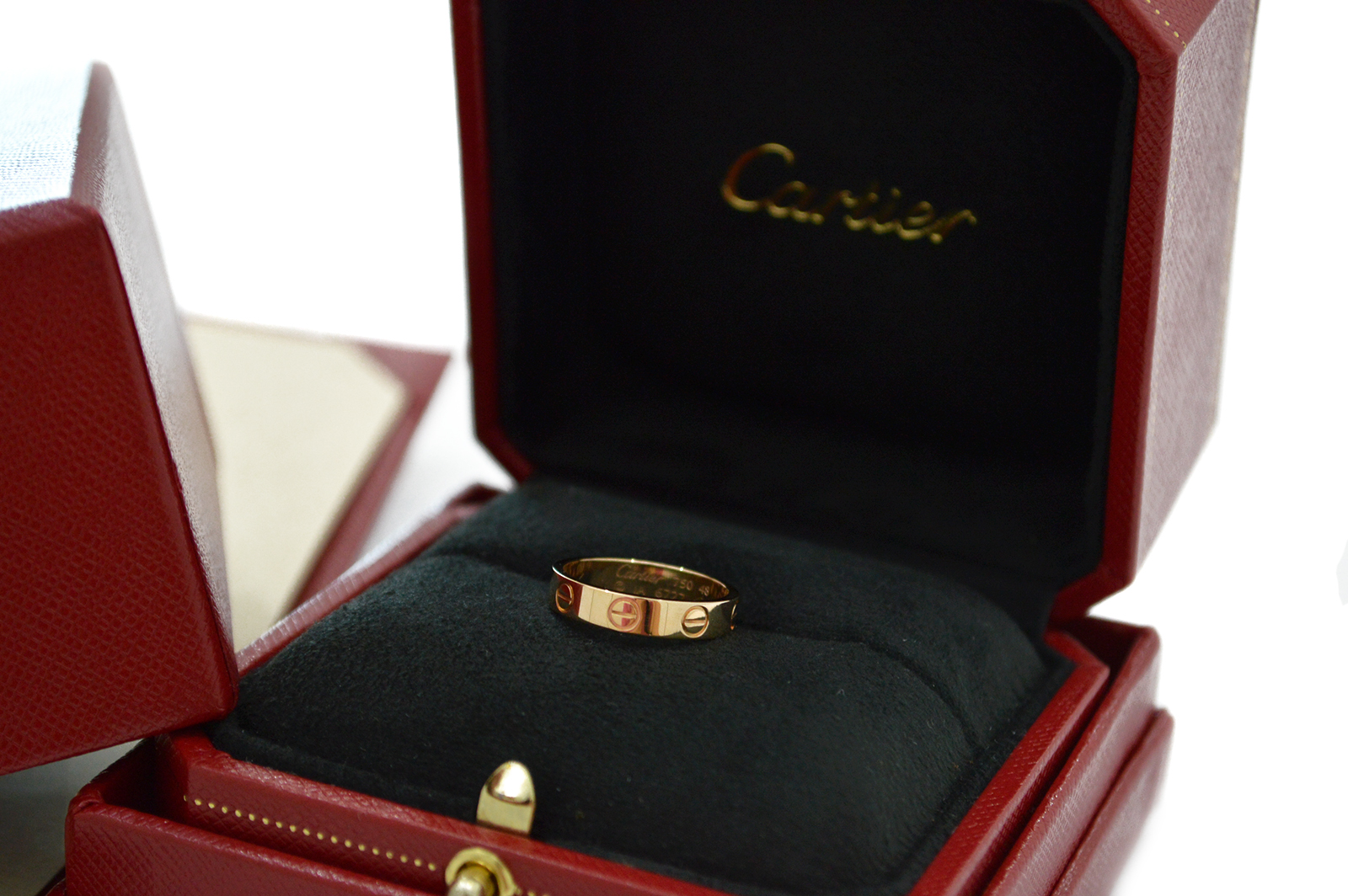Cartier Love Ring Rose Gold CA170002b