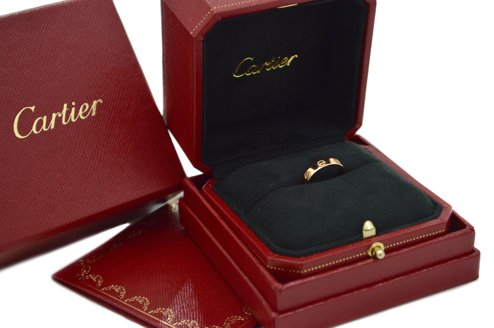 Cartier Love Ring Rose Gold CA170002e