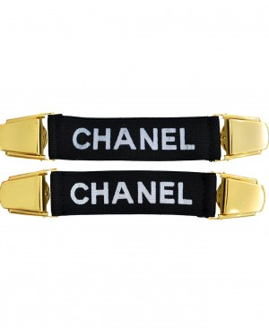 CHANEL Vintage Sleeves Waist Clip Garter Belt CC0X0001