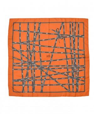Hermes Bolduc Ribbons Silk Scarf by Jean Louis Dumas HM130029