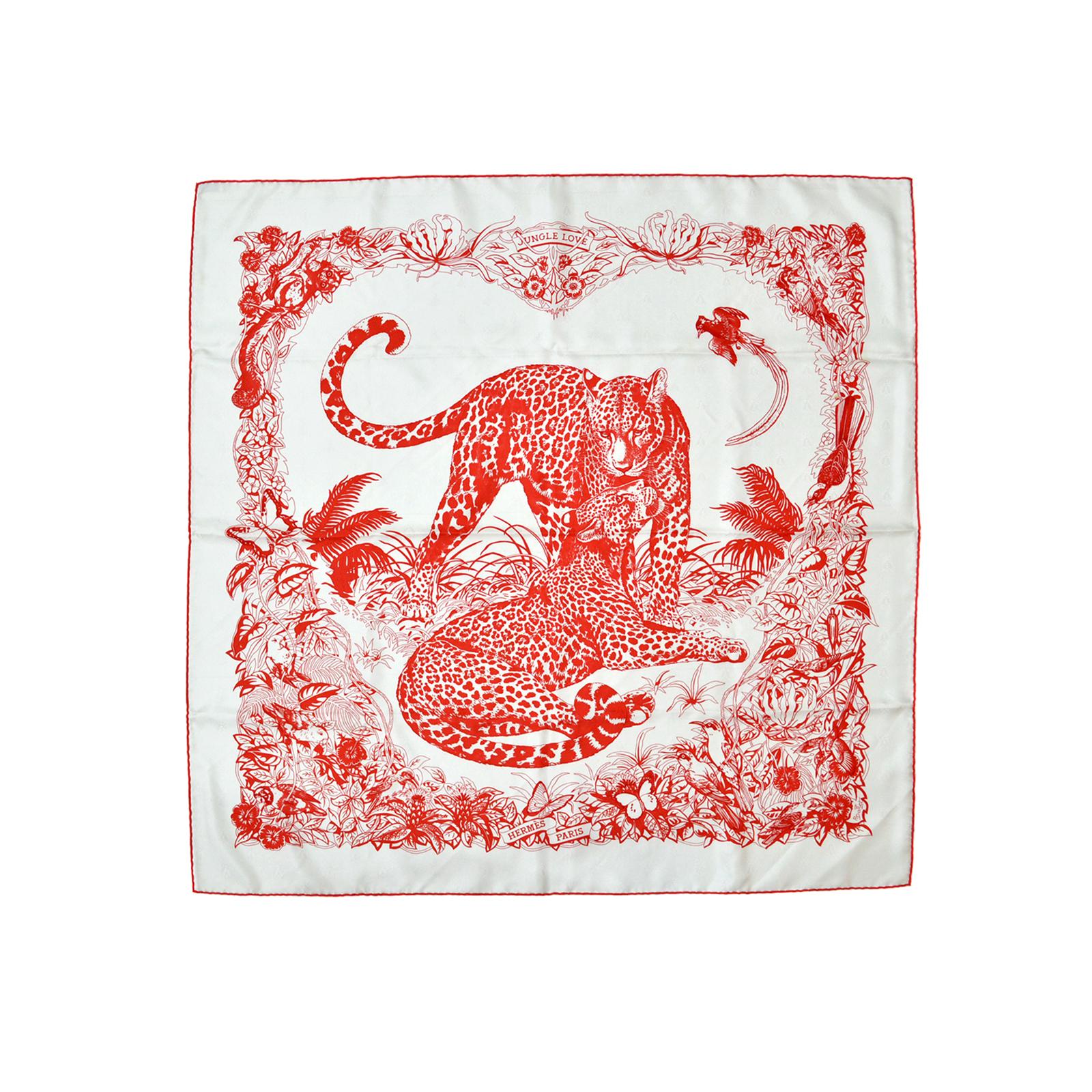 Hermes Jungle Love Silk Scarf HM160069