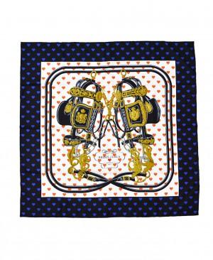 Hermes Brides de Gala Love Silk Scarf Valentine 90 HM170072