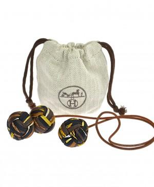 HERMES Silk Balls Pompom Bag Charm HM200166