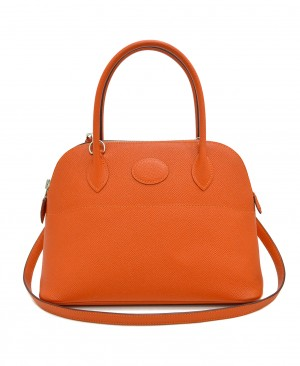 HERMES Feu Orange Bolide 27 Bag HM190152