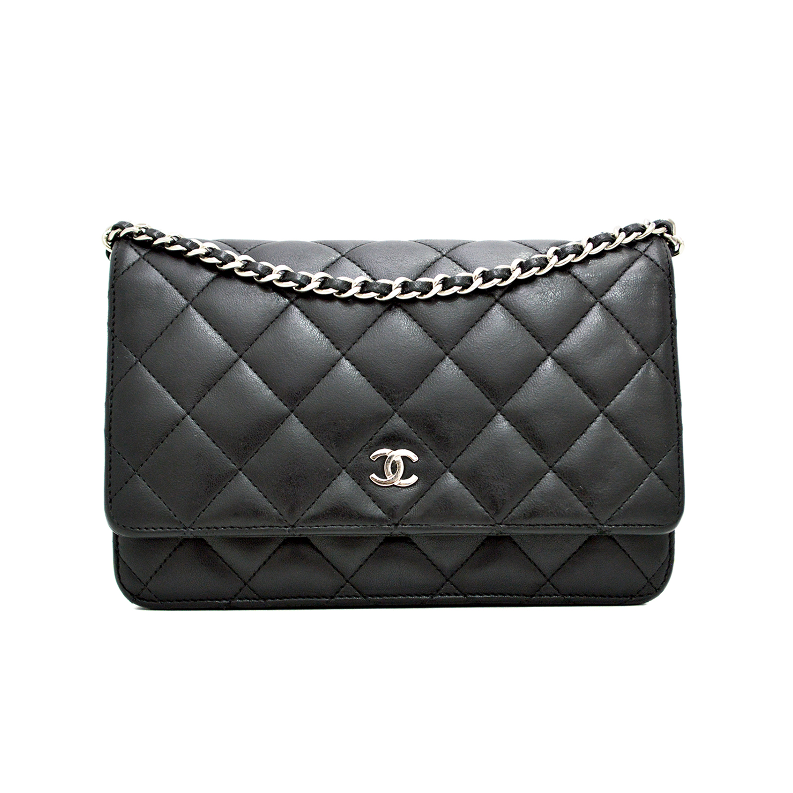 CHANEL Classic Wallet on Chain WOC CC200043