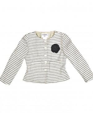 CHANEL Camellia Tweed Jacket CC200045